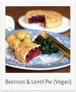With a wonderful earthy flavour, this vegan beetroot & lentil pie recipe produces a delicious, colourful and nutritious meal which is perfect served with vegetables and potatoes or a simple salad.