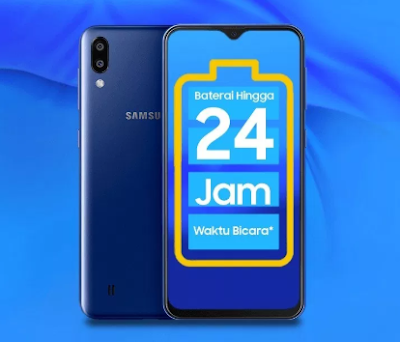 Spesifikasi Baterai Samsung Galaxy M10 dan Harga Terbaru