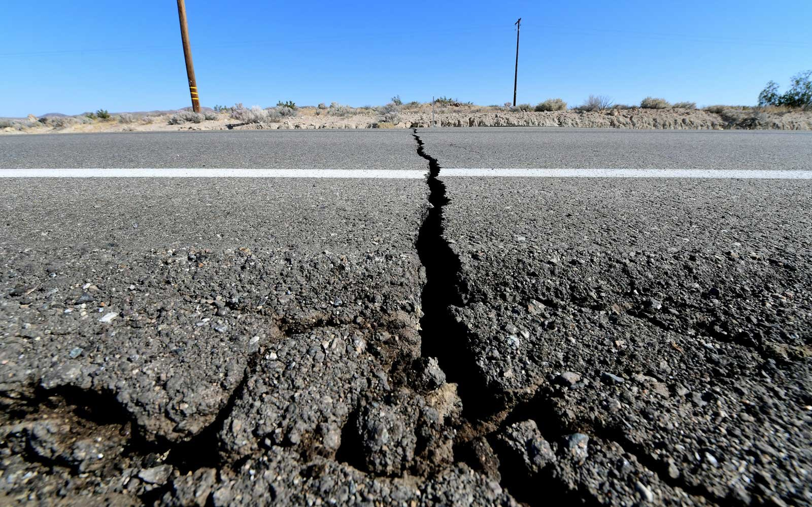 earthquake today california
