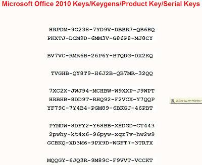 Office 2010 With Serial Key - zip-ing72's blog