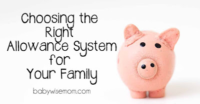 Choosing the Right Allowance System for Your Family