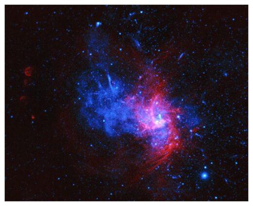 Σπάνια κατάλοιπα σουπερνόβα ανακαλύφθηκαν στον πυρήνα του Γαλαξία μας