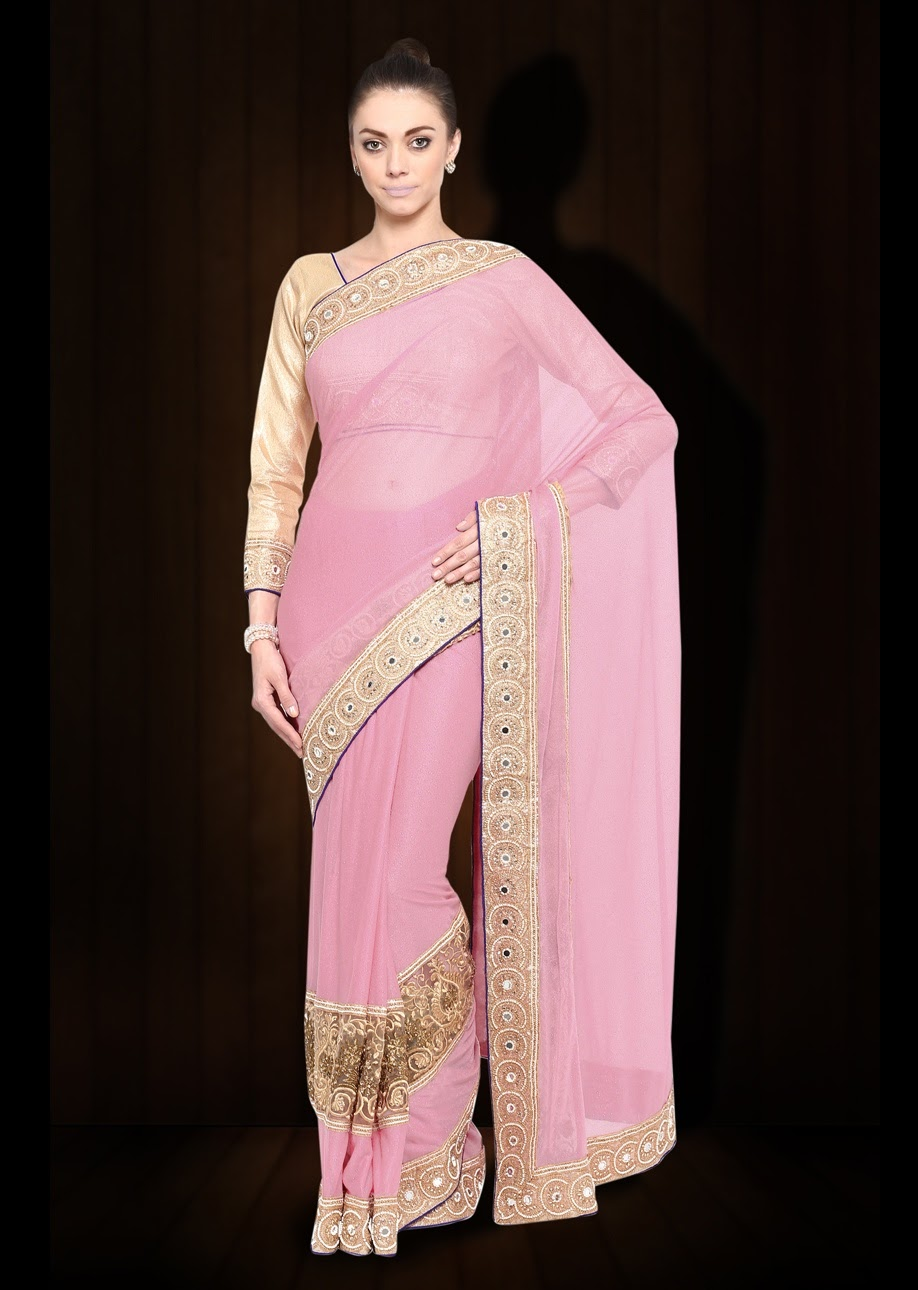 Foxglove – Very Expensive And Gorgeous Designer Saree