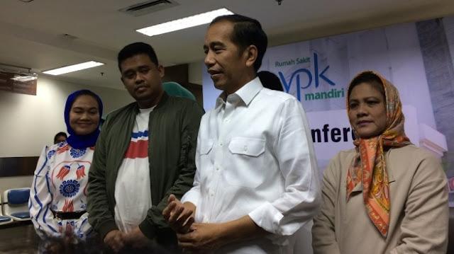 Selamat Untuk Keluarga Besar Pak Jokowi, Atas Kelahiran Putri Mbak Kahiyang dan Mas Bobby