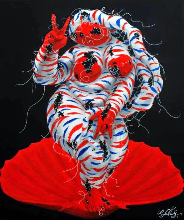 """Демоническая"" живопись. Guokaijun Guokaijun"