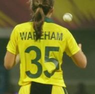 Georgia Wareham Shirt Number