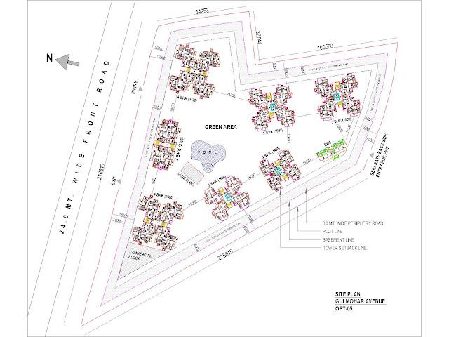 Master Plan - Indiabulls Gulmohar Avenue