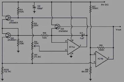 Rangkaian Pengukur Kecepatan Udara (Anemometer)