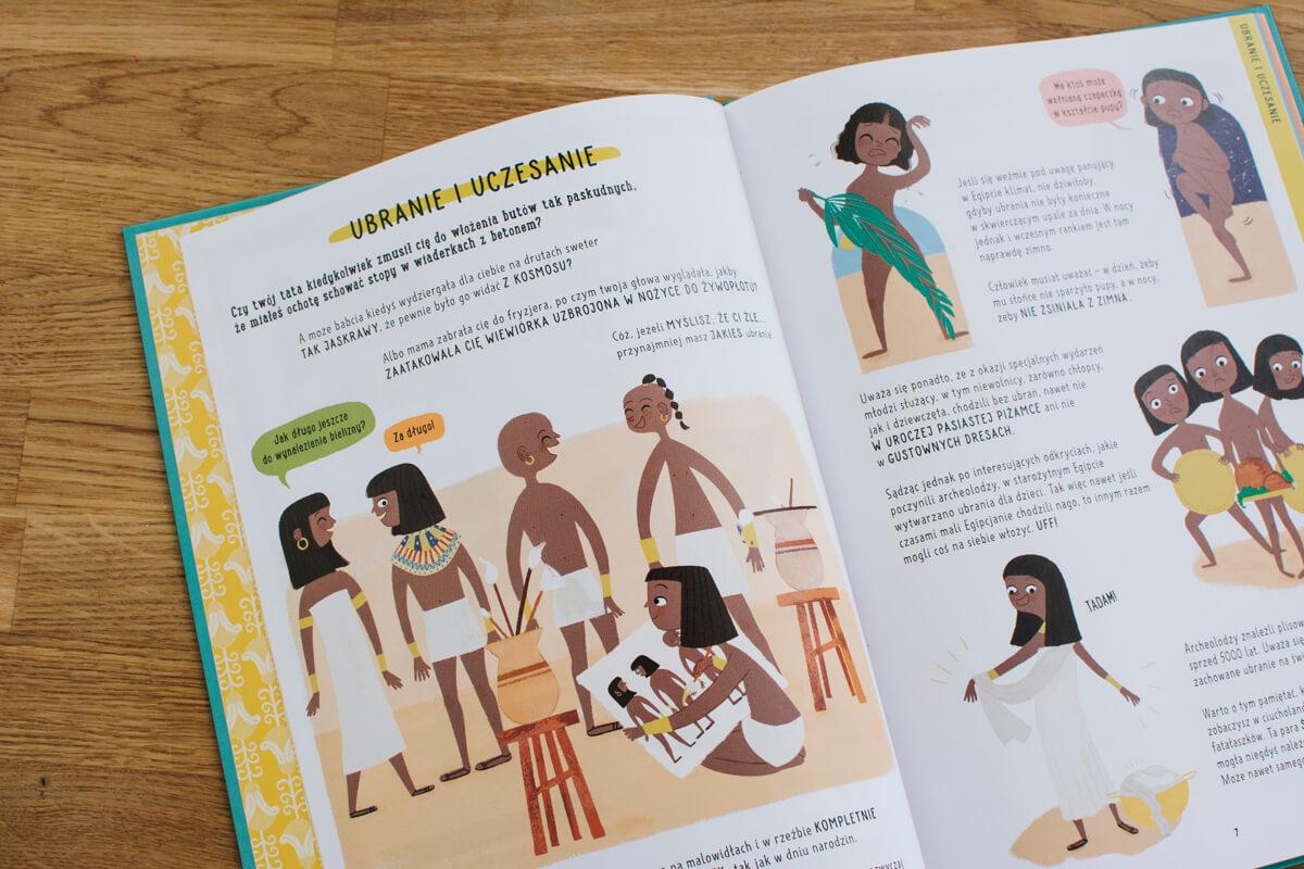Książka historyczna dla dzieci