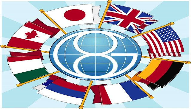 Sekizler grubu veya G-8 ülkeleri kimlerden oluşmaktadır ?