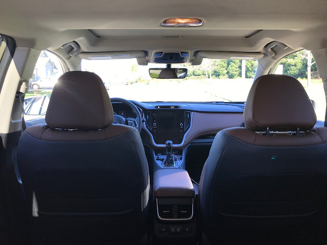 Interior view of 2020 Subaru Outback Touring XT