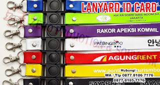 Tali Id Card / Tali Lanyard, gantungan (tali) id card atau hp