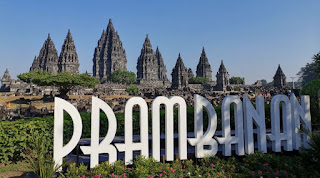 Prambanan es uno de los templos que visitamos en Java.