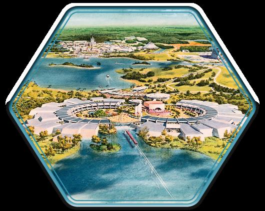 World Showcase Concept Art Seven Seas Lagoon Walt Disney World