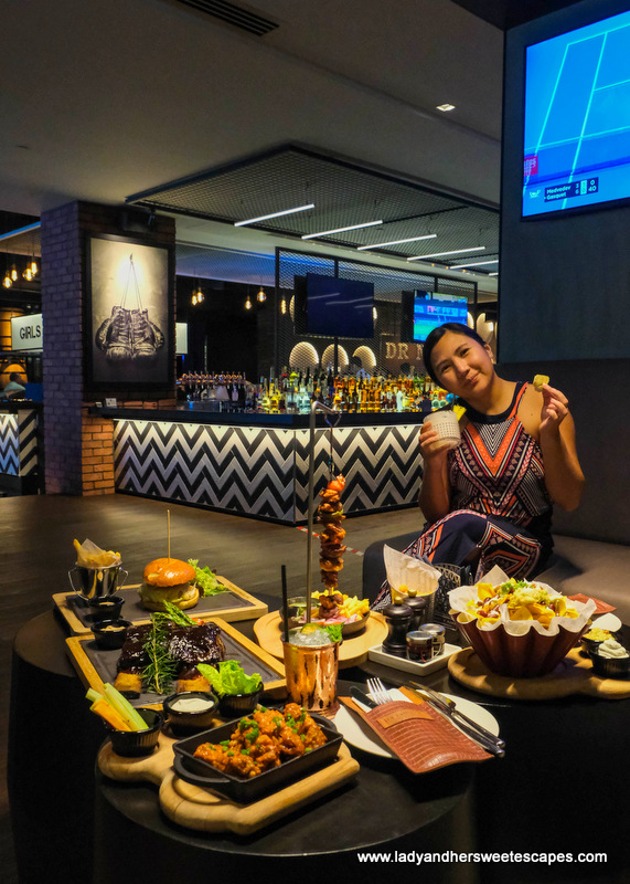 food in La Fabrique in Pullman Hotel Dubai