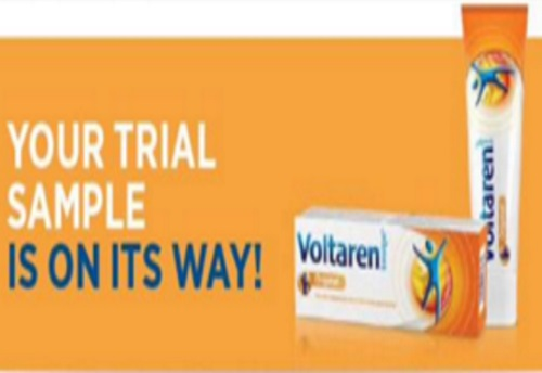 Shoppers Voice Free Voltaren Sample