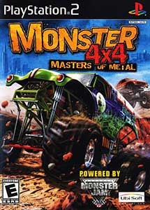 Monster 4×4 Masters of Metal PS2 ISO (Ntsc) (MG-MF)