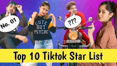 India Top 10 TikTok Star of 2019 - Biography & Lifestyle