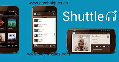 تطبيق Shuttle Music Player الرائع لتشغيل الصوتيات