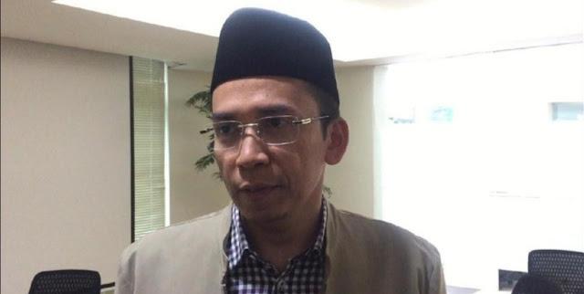 TGB Nilai Pidato Prabowo Banyak yang Sudah Dikerjakan Jokowi