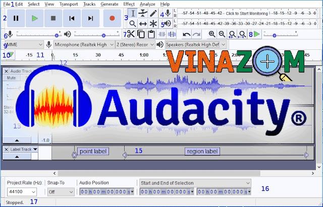 Thủ thuật Audacity cải thiện âm thanh