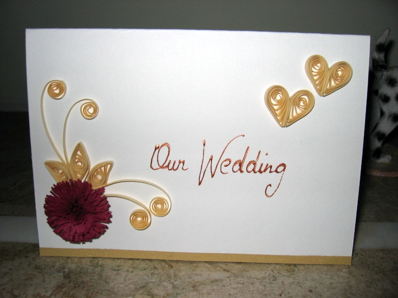 Handmade Quilling Wedding Card Designs 2017 Quillingpaperdesign