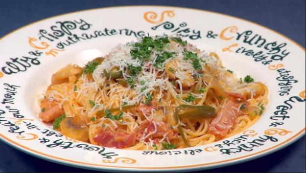 Resep Spaghetti Napolitan