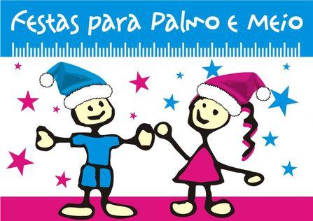 FESTAS para PALMO e MEIO winter logo