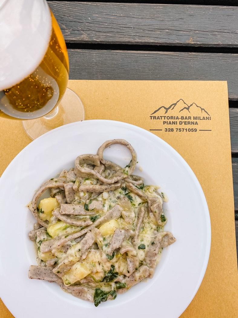 Pranzo alla Trattoria Milani