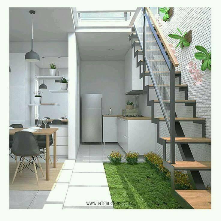 13 Desain Dapur Terbuka Halaman Belakang Rumah | Gambar ...