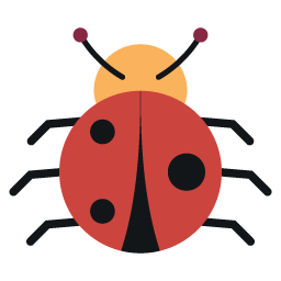 Preview of Beetle, logo, emoji icons.