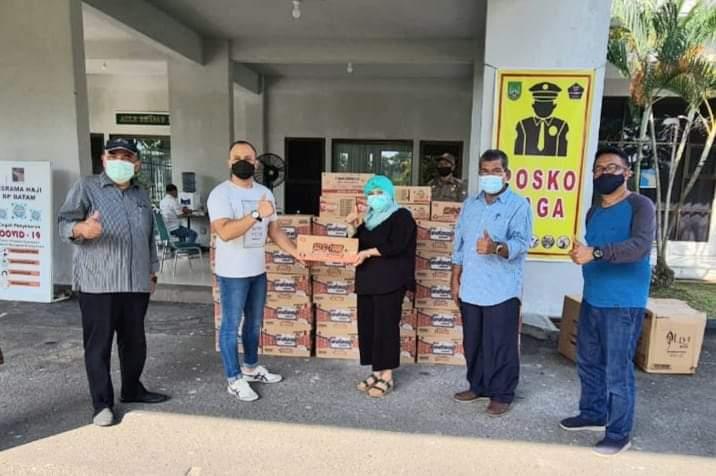 PT Wings Berikan Bantuan Kepada Pasien Covid-19 di Asrama Haji