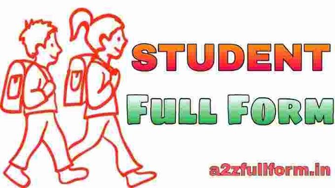 विद्यार्थी (Student) का फुल फॉर्म हिंदी में | Student Full Form in Hindi