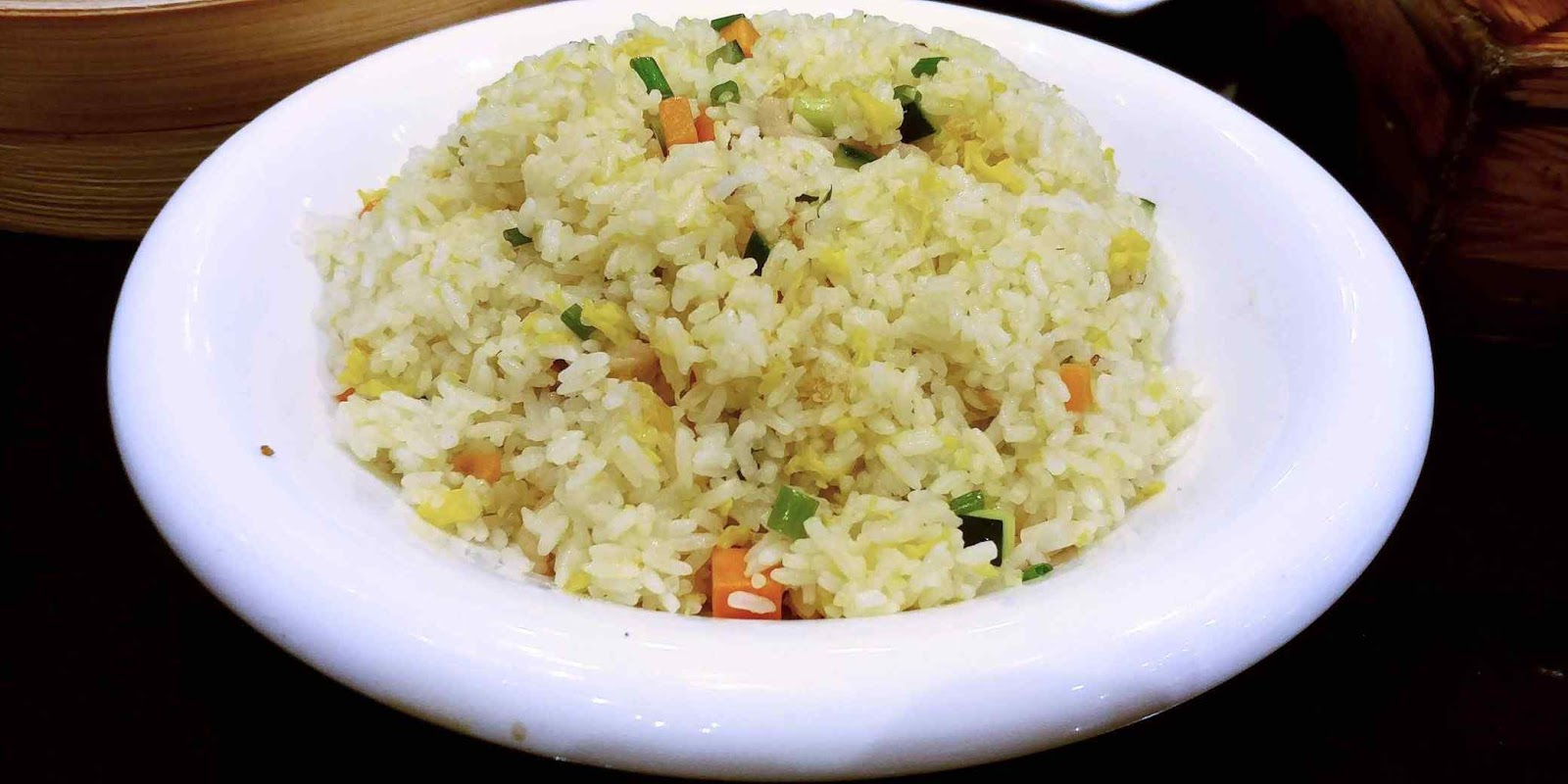 Lugang Cafe's Golden Fried Rice with Egg and Shredded Pork