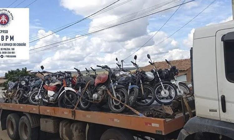 Operação apreende motocicletas com descargas que causam poluição sonora no Sudoeste da Bahia