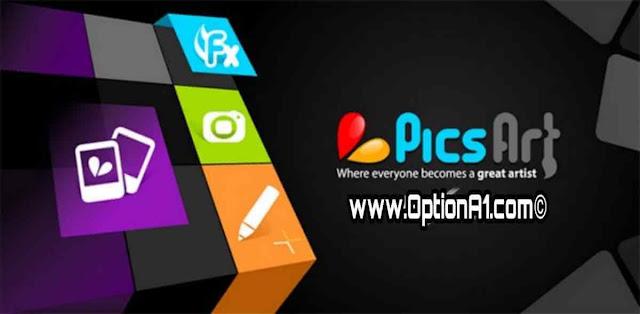 تحميل برنامج PicsArt Photo Studio للتعديل على الصور واضافة التأثيرات