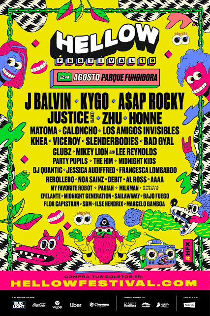 line up hellow festival 2019