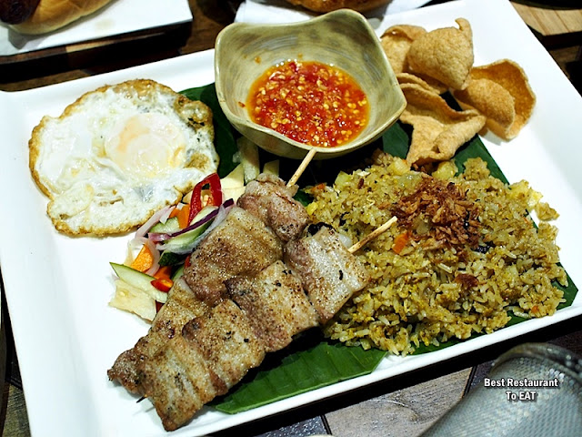 TOMMY THONGCHAI JAYA ONE  Menu - Pineapple Fried Rice With Charcoal Grilled Pork Belly
