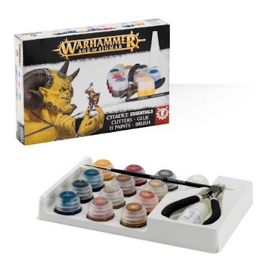 warhammer 40K beginners guide paint set