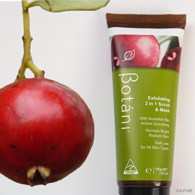 botani, botani exfoliating, mặt nạ botani, botani exfoliating 2 in 1 scrub mask, mặt nạ và tẩy da chết botani, botani việt nam