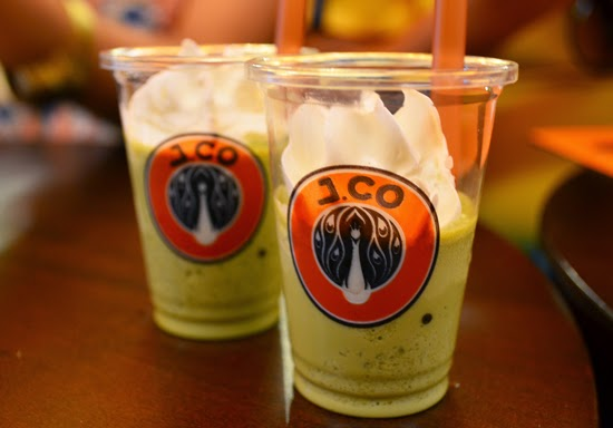J.CO Green Tea Frappe