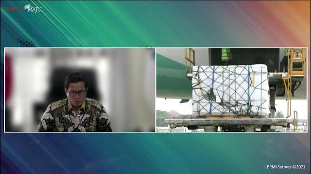 Indonesia Kembali Terima 1,4 Juta Dosis Vaksin Sinopharm