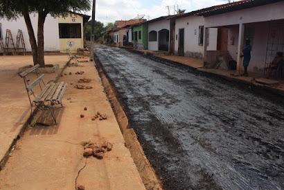 BOM JARDIM-MA: Iniciada obras para pavimentação do bairro Vila Muniz