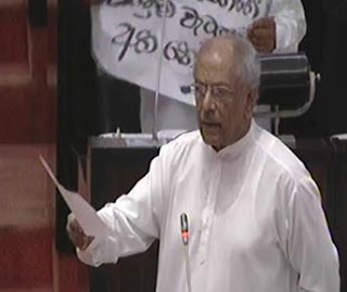 Parliament adjourns after uproar on slashing of Samurdhi benefits
