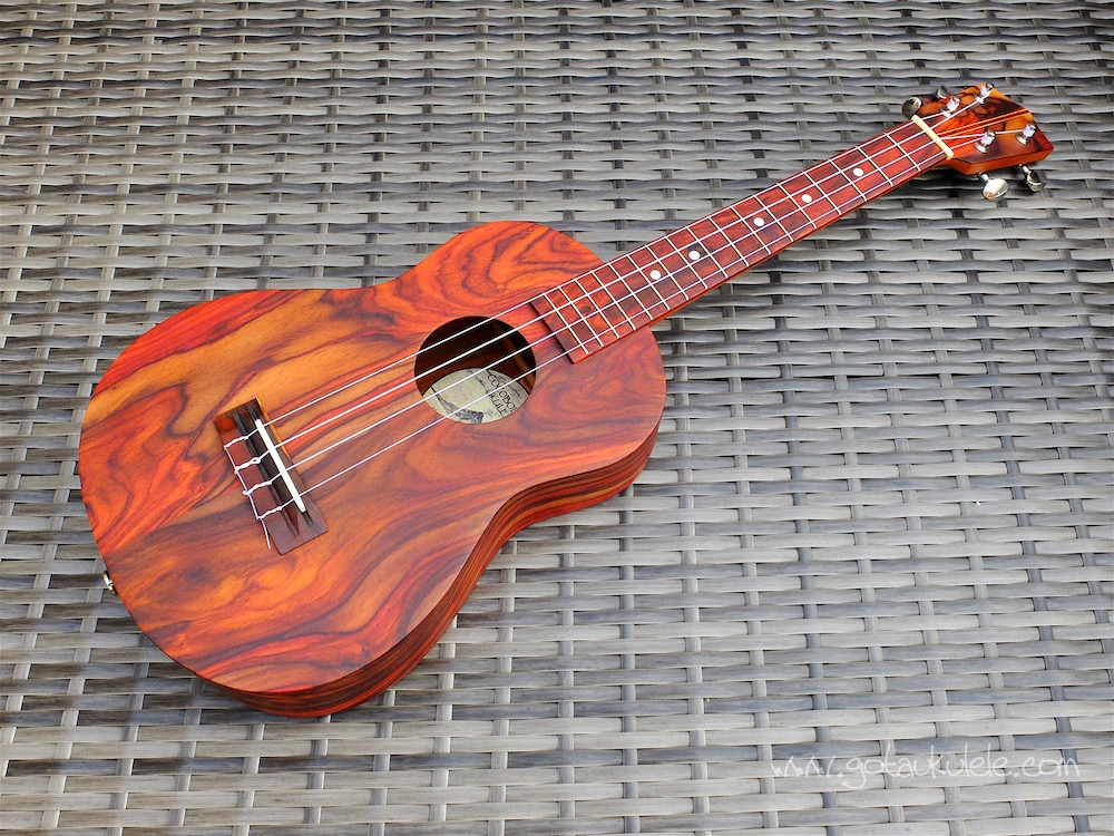 Cocobolo Tenor Ukulele Review