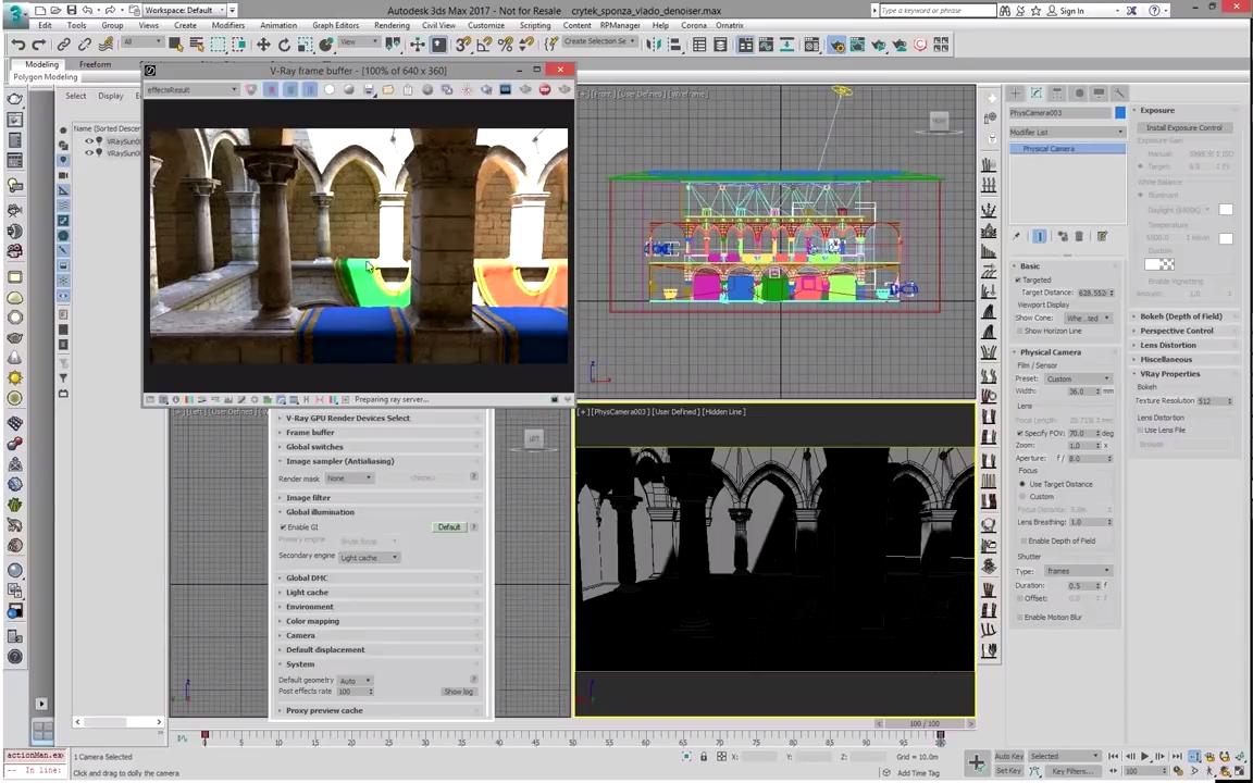 V-Ray 4 0 for 3ds Max | Optix denoiser with V-Ray GPU | CG