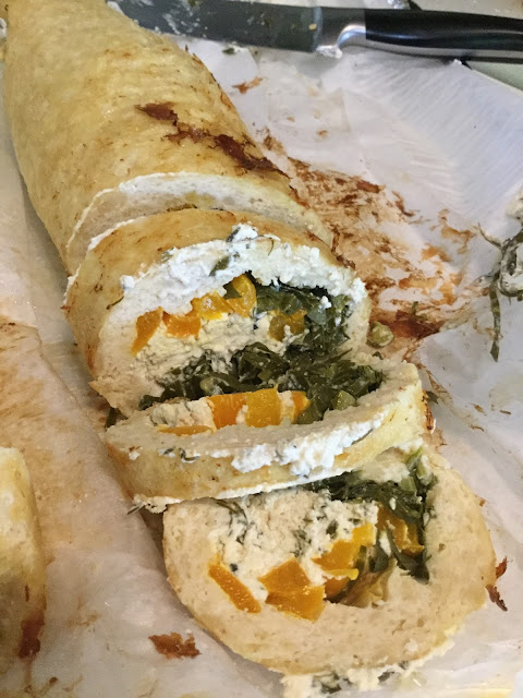 Stuffed Chicken Roulade