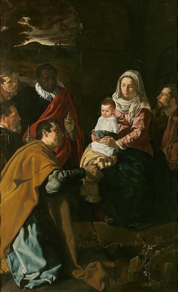 Диего Веласкес - Поклонение волхвов (1619)