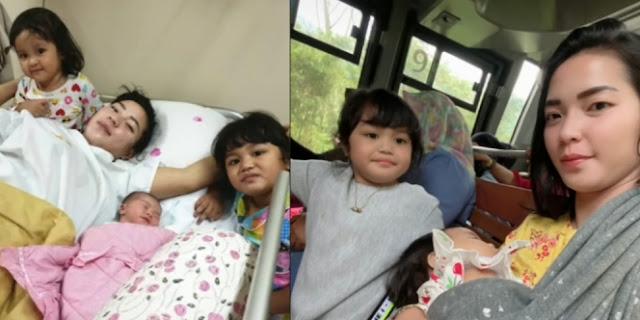 Keseharian Mamah Muda Cantik Diselingkuhi Pas Hamil Tua, Dasteran Urus Tiga Anak