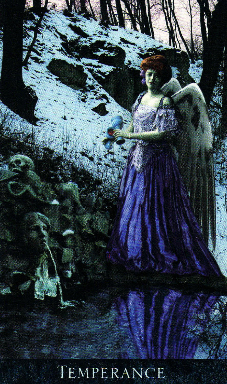 Xiv Temperance Balance Archangel Zadkiel: Corpse Cafe: MAJOR ARCANA